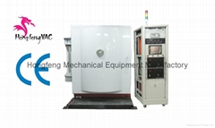 PVD coating machine for glass bottles chroming finishing