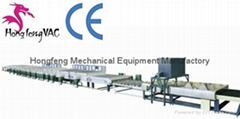 Continuous Vacuum Silvering Coating Line Glass Mirror Making Machine