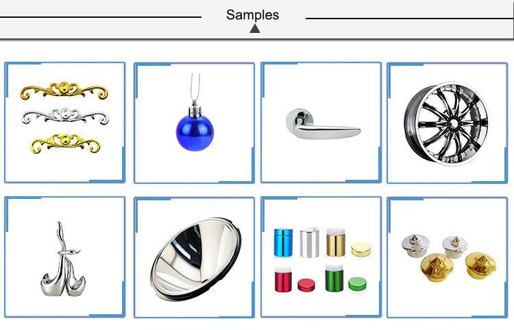 高真空塑料禮品裝飾品蒸發鍍膜設備 5