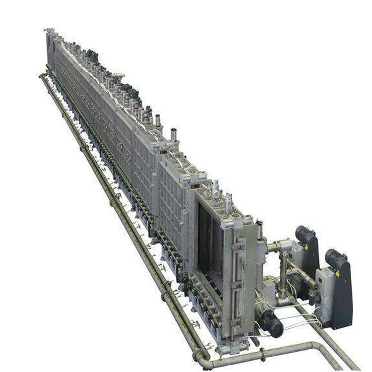 连续性ITO导电玻璃磁控溅射生产线 2