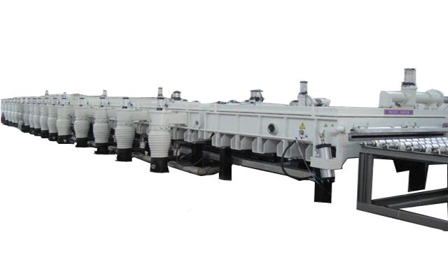 连续性ITO导电玻璃磁控溅射生产线 4
