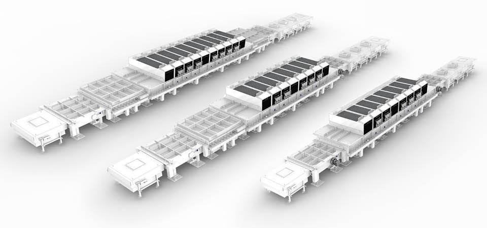 連續性ITO導電玻璃磁控濺射生產線 5