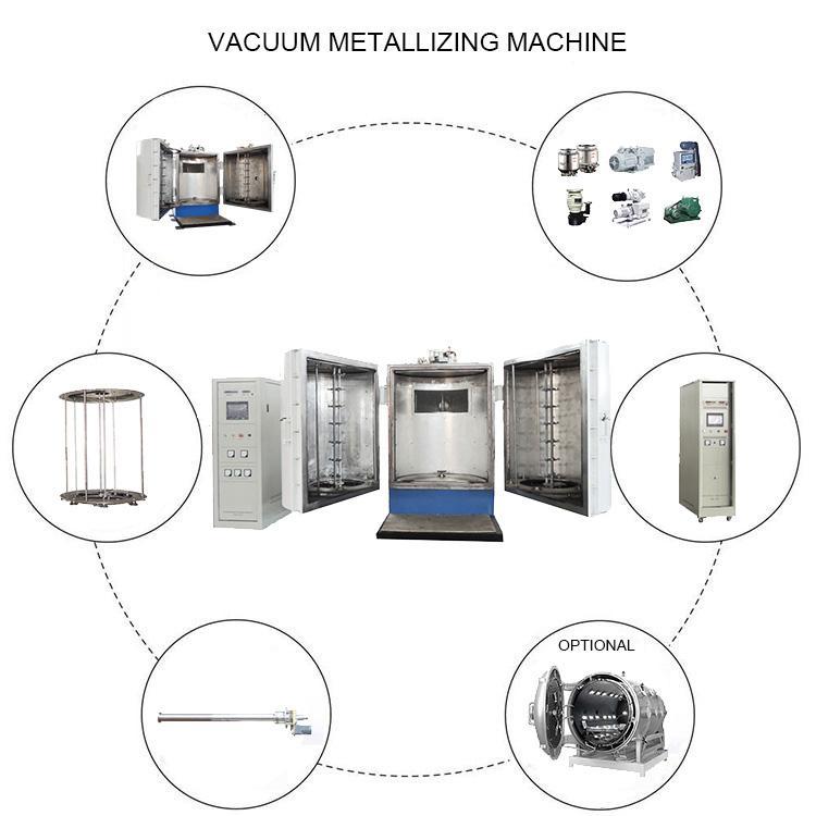 ABS塑料產品真空蒸發鍍膜設備 4