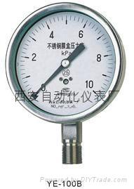 YE-150F膜盒壓力表 1