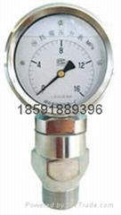 YK100抗震壓力表