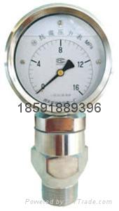 YK100抗震壓力表 2