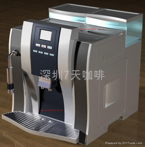 深圳会展咖啡机租赁 1