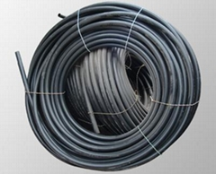 IRRIGATION pipe of high density polyethylene