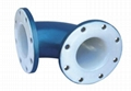PE lined pipes for waste treatment in