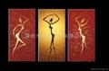 油畫 多彩藝朮 多彩油畫 大芬油畫 中國油畫 裝飾畫 無框畫 4