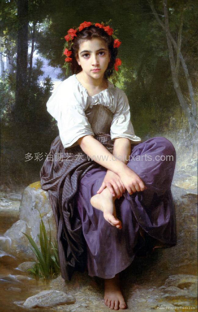 油画 多彩艺术 多彩油画 大芬油画 中国油画 人物油画 2