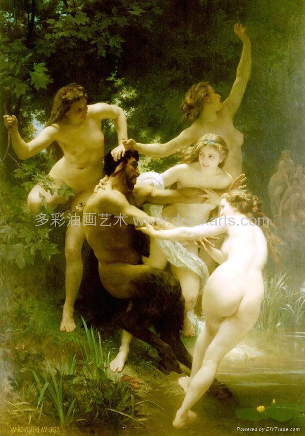油畫 多彩藝朮 多彩油畫 大芬油畫 中國油畫 人物油畫 3