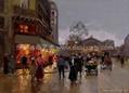 油畫 多彩藝朮 多彩油畫 大芬油畫 中國油畫 街景油畫 2