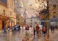 油画 多彩艺术 多彩油画 大芬油画 中国油画 街景油画 3