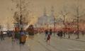 油画 多彩艺术 多彩油画 大芬油画 中国油画 街景油画 5