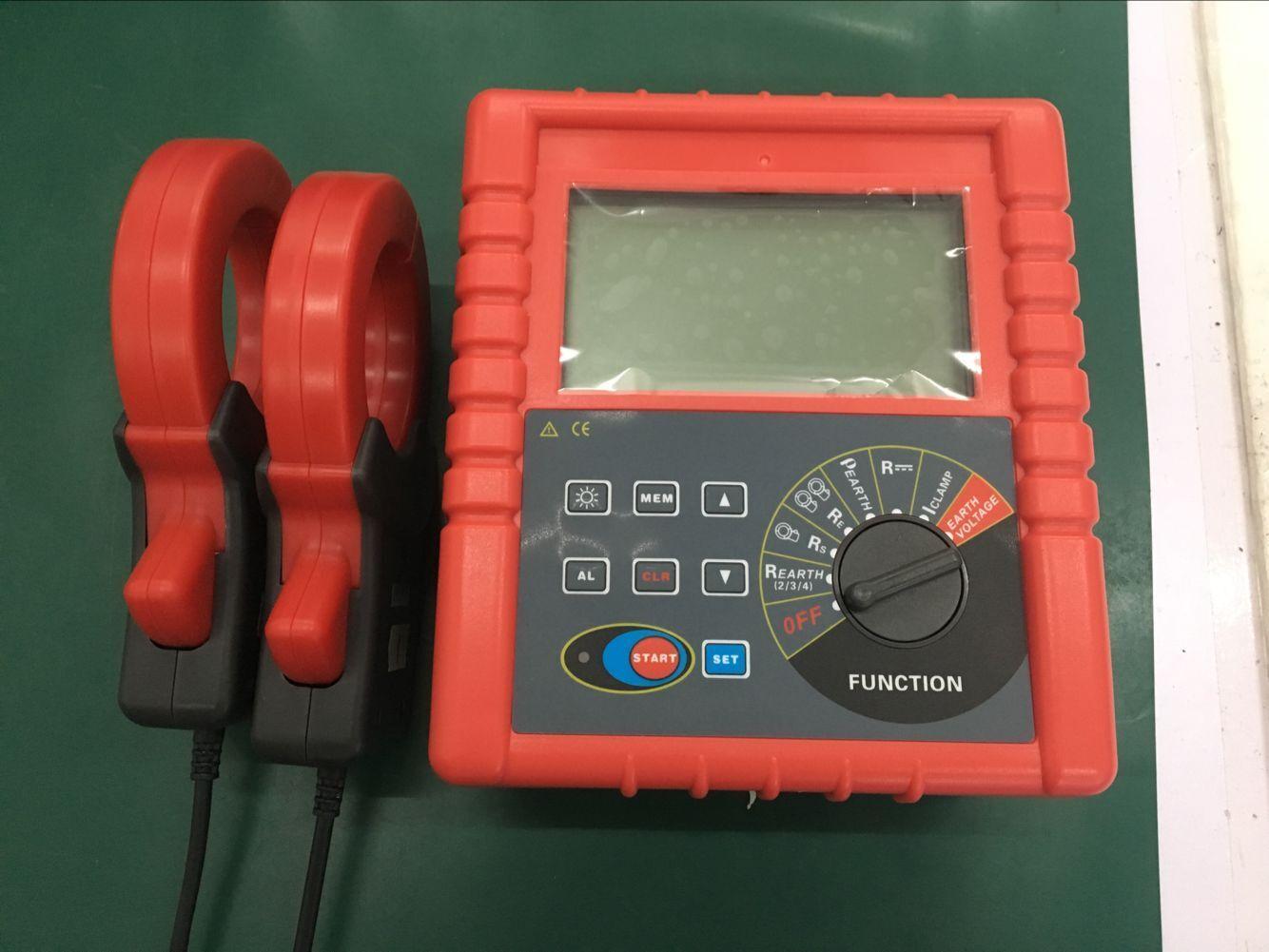 双钳接地电阻测试仪 1