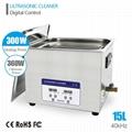 Digital Ultrasonic Cleaner JP-100S(digital, 30L, 8gallon) for LAB Instruments  3