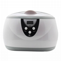 Household and sterilization watch jewelry eyeglass ultrasonic cleaner 0.6L  1