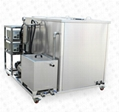 Ultrasonic cleaner double tanks industrial machine equipment with filter drying 3
