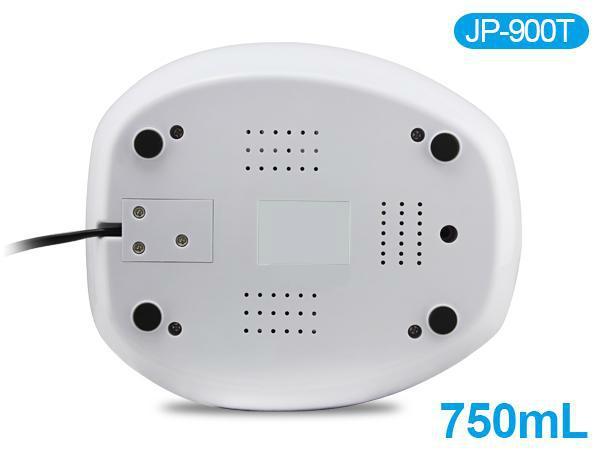 750ml ultrasonic cleaner degas function wash jewelry watch digital LED display 5