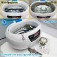Jewelry denture eyeglass ultrasonc cleaner 600ml LED display  5