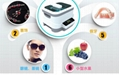 Ultrasonic cleaner with detachable tank and touch key for watch eyeglass jewelry 5