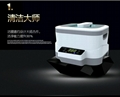Ultrasonic cleaner with detachable tank and touch key for watch eyeglass jewelry 1
