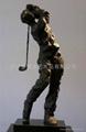 高爾夫人物雕塑