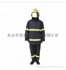 分體式消防員滅火防護服