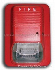 Fire alarm flash siren fire siren strobe alarm siren