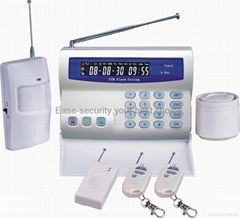 GSM wireless alarm system with LCD display ES-2020GSM