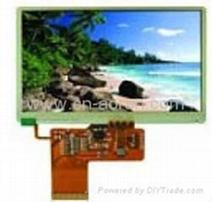 high quality TFT LCD Modules 4.3-inch w/without touch screen