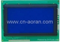 STN blue 240x128 Graphic LCD Module with