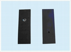 Rubber magnetic components