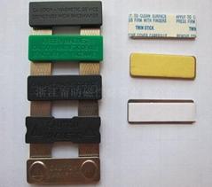 Magnetic breastplate/badge sereieswithdifferentdoublesidetape