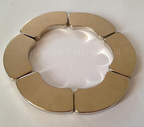 NdFeB motor magnet special shape magnet 1