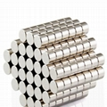 Strong Round Long Cylinder Rare Earth Neo Neodymium Magnet 2