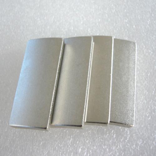 Customized Arc NdFeB Magnet Neodymium Curve For Motor 4