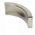 Customized Arc NdFeB Magnet Neodymium Curve For Motor 7