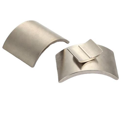Customized Arc NdFeB Magnet Neodymium Curve For Motor 8