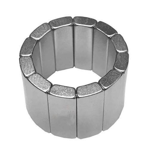 Customized Arc NdFeB Magnet Neodymium Curve For Motor 10