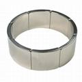 Customized Arc NdFeB Magnet Neodymium Curve For Motor 11