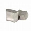 Customized Arc NdFeB Magnet Neodymium Curve For Motor 12