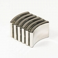 Customized Arc NdFeB Magnet Neodymium Curve For Motor 15