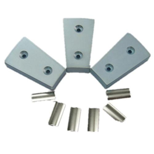 Wind power generator magnet with hole permanent Sintered NdFeB magnet  5