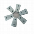 Wind power generator magnet with hole permanent Sintered NdFeB magnet  6