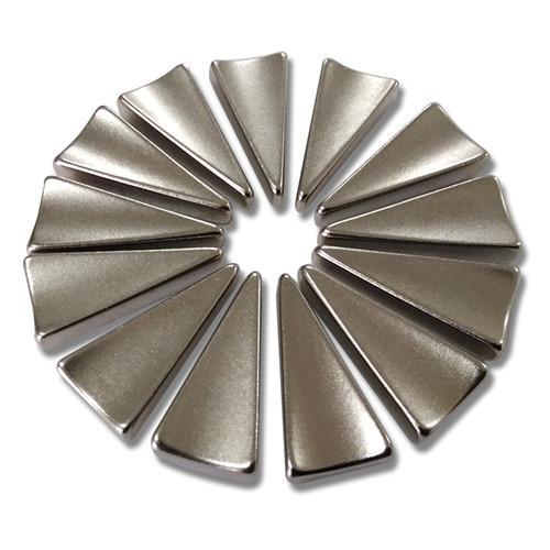 Special shape Motor Magnet permanent maggent gold coating N48H 3