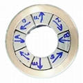 NdFeBhalbach array magnet Halbach ring/arc segments Magnet,  2
