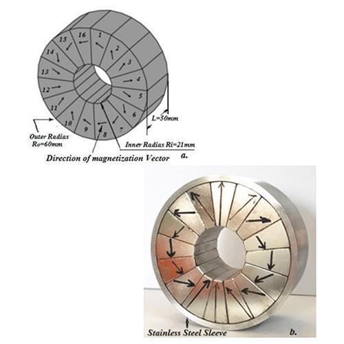 NdFeBhalbach array magnet Halbach ring/arc segments Magnet,  1