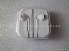 In-Ear  Mic+Volumn Control for EarPods Earphone For iphone 5 for ipad mini f
